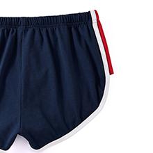 mens split side shorts