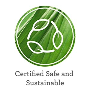 Certified safe and sustainable