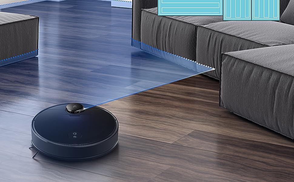 roborock S4 aspirateur Robot con navegación láser,y Limpieza ...