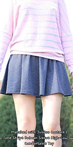 Mini Flared Skirt