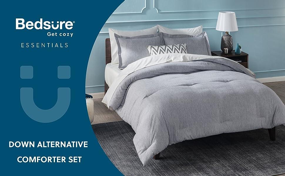 Main image of down alternative comforter set