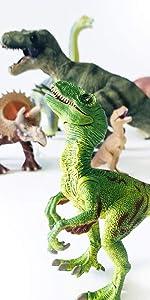 伊豆シャボテン本舗 恐竜フィギュア 8点セット ティラノサウルス トリケラトプス ブラキオサウルス