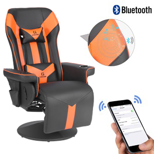 gaming chair with bluetooth speakers