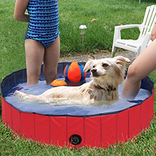 Foldable Dog Pet Bath Pool Collapsible Dog Pet Pool Bathing Tub Kiddie Pool for Dogs Cats and Kids