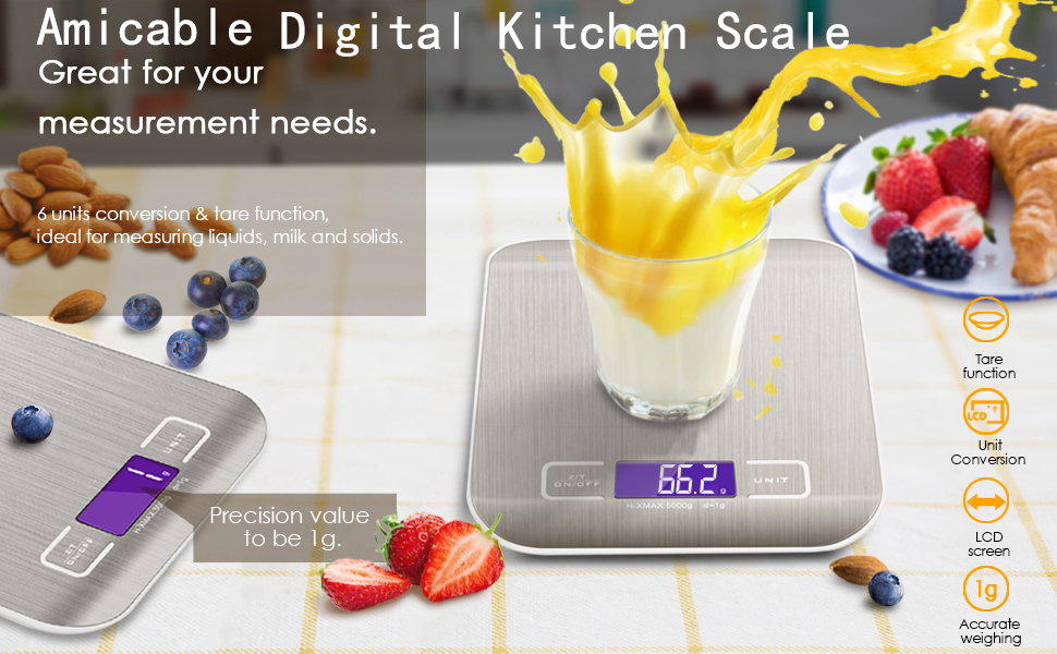 Amicable Digital kitchen scale