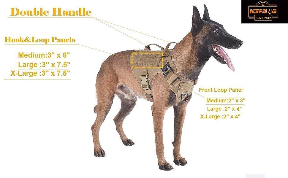 tactical k9 vest