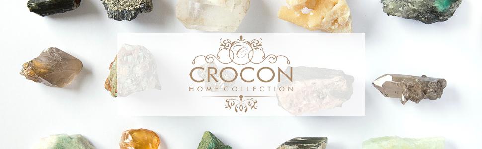 crocon gemstone crystal feng shui products chakra balancing reiki healing home decor collection