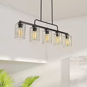5-Light Kitchen Island Light