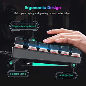 Gaming Keyboard,floating keyboard,small gaming keyboard,keyboard typewriter style,led keyboard