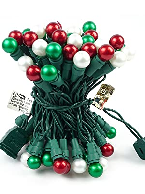 Christmas Lights Outdoor Multi Color UL Certified Christmas String Lights