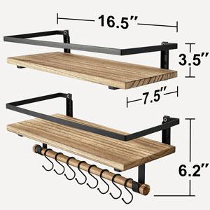 8 Stainless Steel Hooks