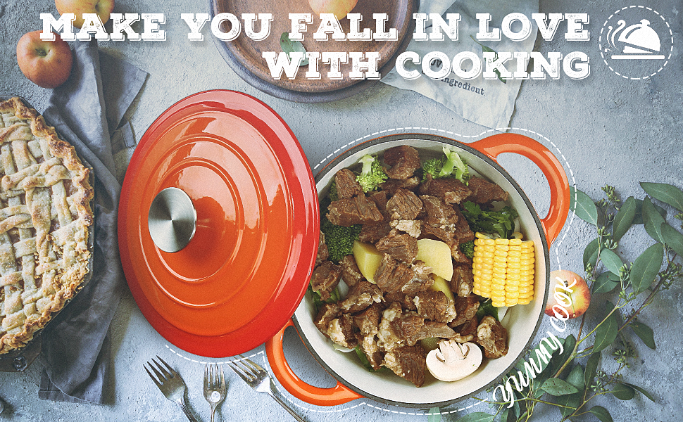 make you fall in love with cooking