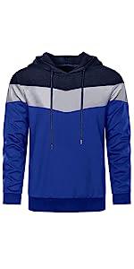 Men's Casual Color Block Novelty Sweatshirt