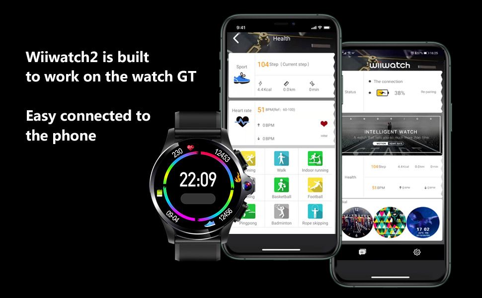 allcall gt supports connect and download App