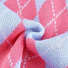 Retro and stylish design, diamond lattice geometric pattern, really cute, for women and girls.