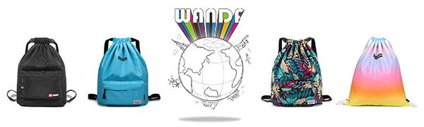 WANDF Drawstring Backpack