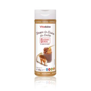 topping de dulce de leche, producto para veganos, producto dietético, producto diabético