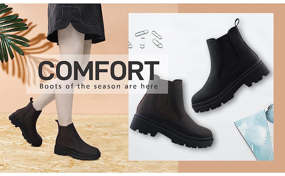 Women Chelsea Boots