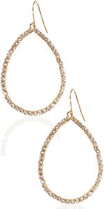 Humble Chic Rhinestone Stud Earrings - Simulated Diamond CZ Cubic Zirconia Crystal Pave Post Studs