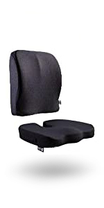 Seat Cushion Pillow with Lumbar Support for Office Chair