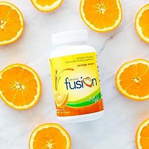 Bariatric Fusion Orange Complete Chewable Vitamin