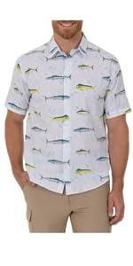 short sleeve shirt, men's button up shirt