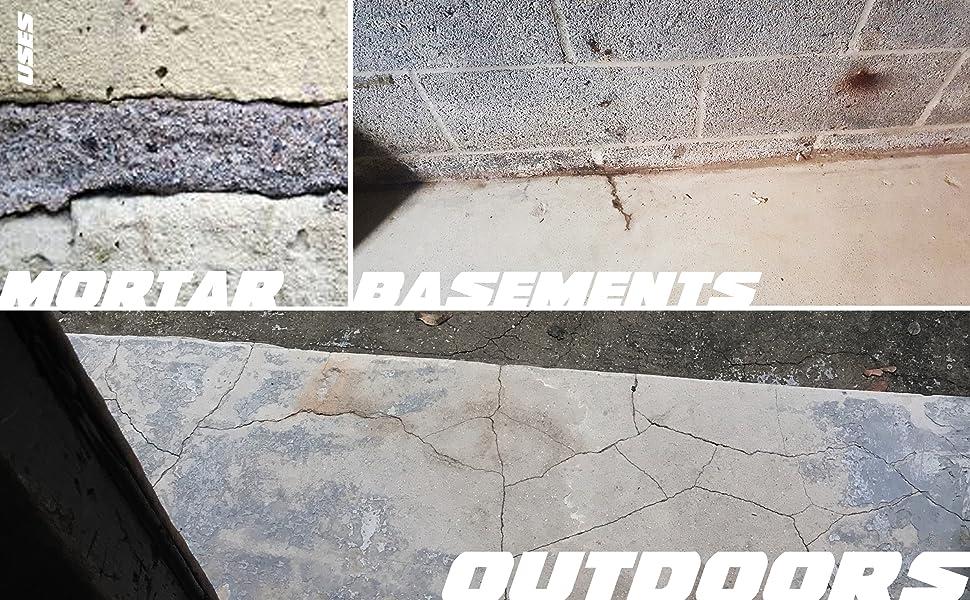 Amazon Com Crackweld Pro Concrete Floor Repair Kit Seal Cracks