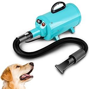 dog dryer, pet dryer, dog hair blower, dog grooming dryer, pet air blower