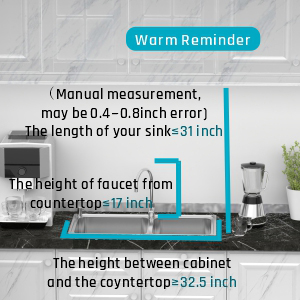 Dimension Note of Dish Rack