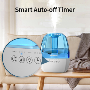 baby humidifier smart-off timer