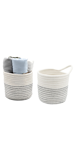 wall rope basket woven basket small rope baskets for storage bins woven basket small