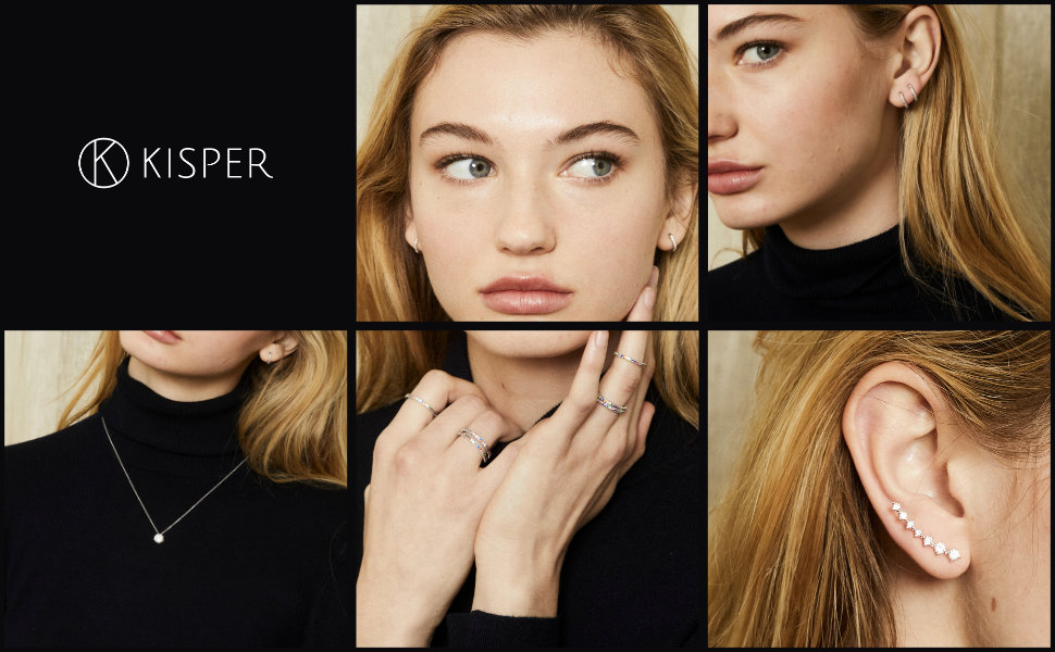 kisper jewelry brand fashion chains necklace earrings rings for women girls men boys