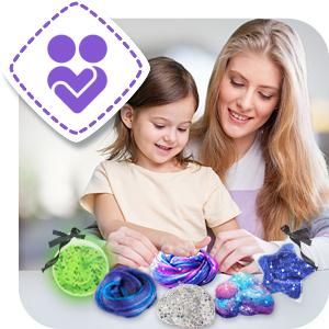 slime kit set slimes regalo para niñas niños regalos chicos sorpresa manualidades infantiles 5 6 7 8