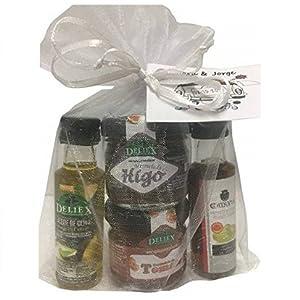 Deliex delicias de Extremadura Pack Aceite y vinagre con Dos ...