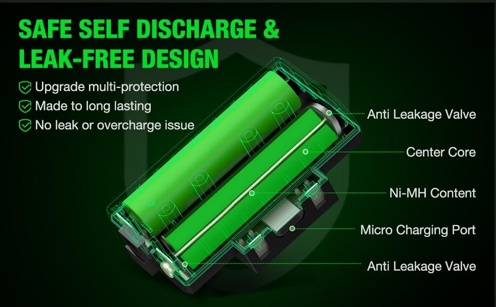 rechargebale battery xbox one
