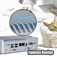 Fanless Aluminum Alloy Design
