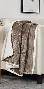 sherpa velvet throw blanket