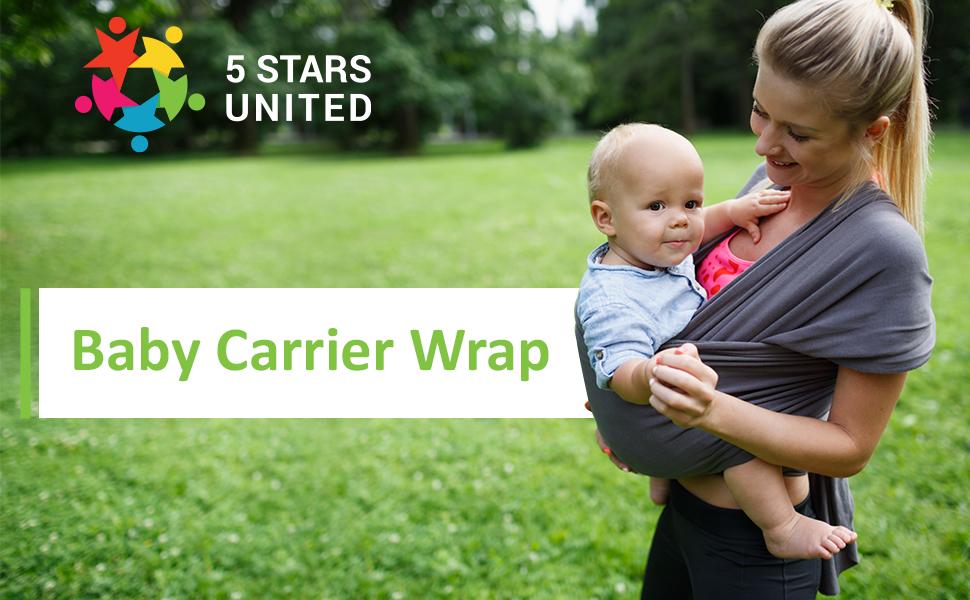 Baby wrap carrier sling new born toddler child kangaroo kid