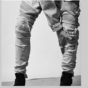 mens biker jeans