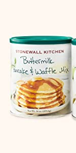stonewall kitchen breakfast mix pancake waffle morning brunch buttermilk
