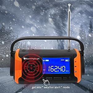 AM/FM & NOAA Weather Alert Radio