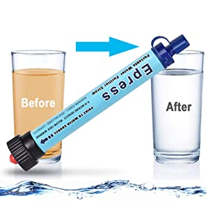 Personal Water Filtration Straw