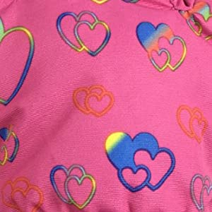 rainbow hearts cute girly female love warmth equal lady independent