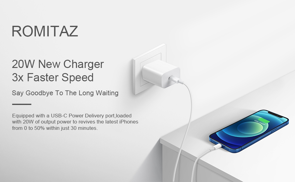 20W iPhone 12 charger