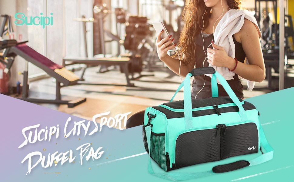Sucipi City Sport Duffel Bag