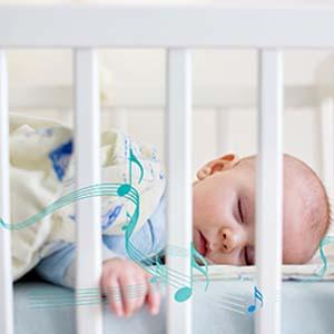 baby monitor melody sleeping