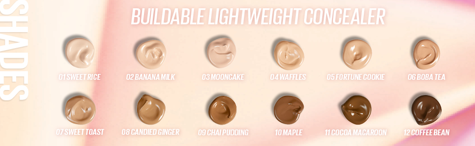 Kaja, Don't settle, corrector ligero, corrector mezclable, corrector sin arrugas, maquillaje