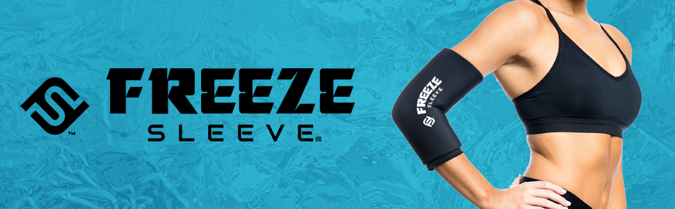 Freeze Sleeve, Cold, Compression, Therapy, Sleeve, Wrap, Arms, Legs, Injury, Wrist, Ankle, Calf