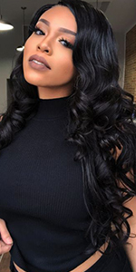 wigs for black women human hair lace front wigs