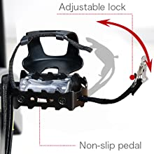Adjustable Caged Foot Pedals
